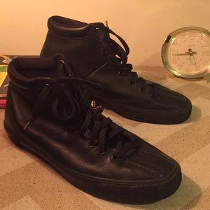 "K-Swiss Shoes - Men's k-Swiss 10.5 black hi-top ""trainers"""